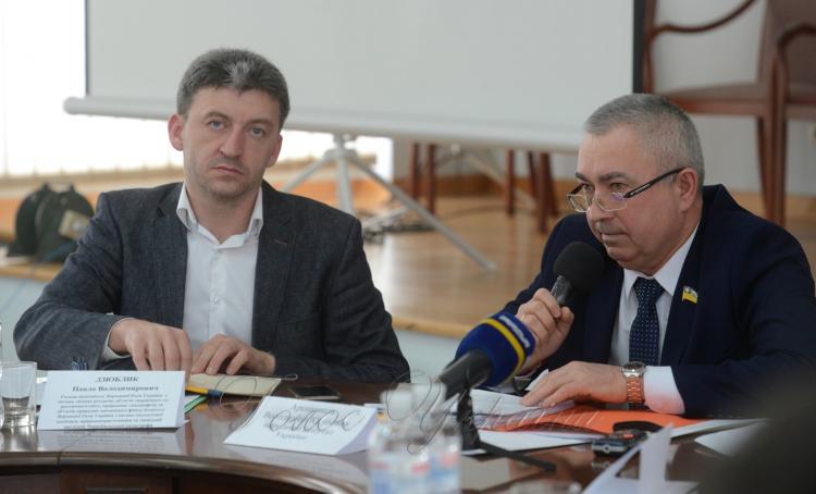 В.Яценко взяв участь у засіданні Чорнобильскої асоціації народних депутатів України