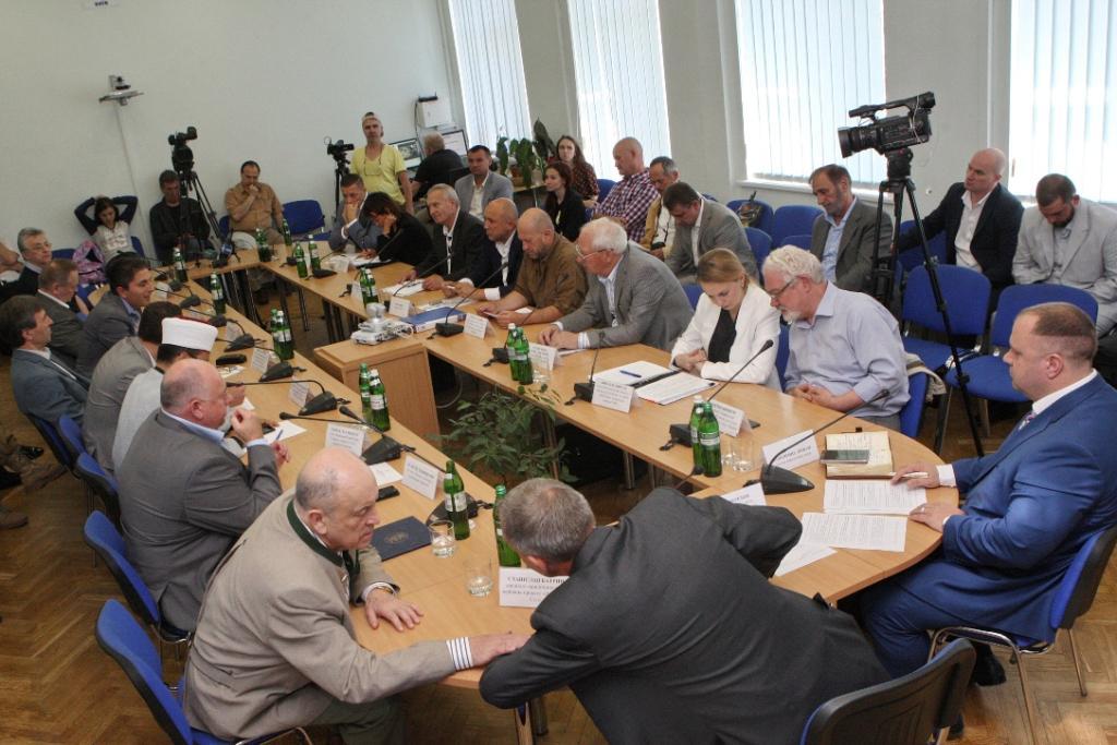 Голова Союзу юристів України Святослав Піскун взяв участь у засіданні круглого столу