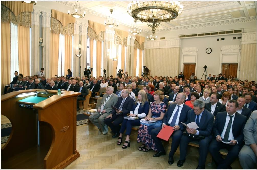 Відбулося пленарне засідання ХІІ сесії Харківської обласної ради VII скликання.