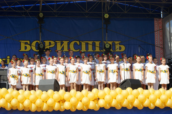 М.Матьора взяв участь у заходах з відзначення дня міста Борисполя.