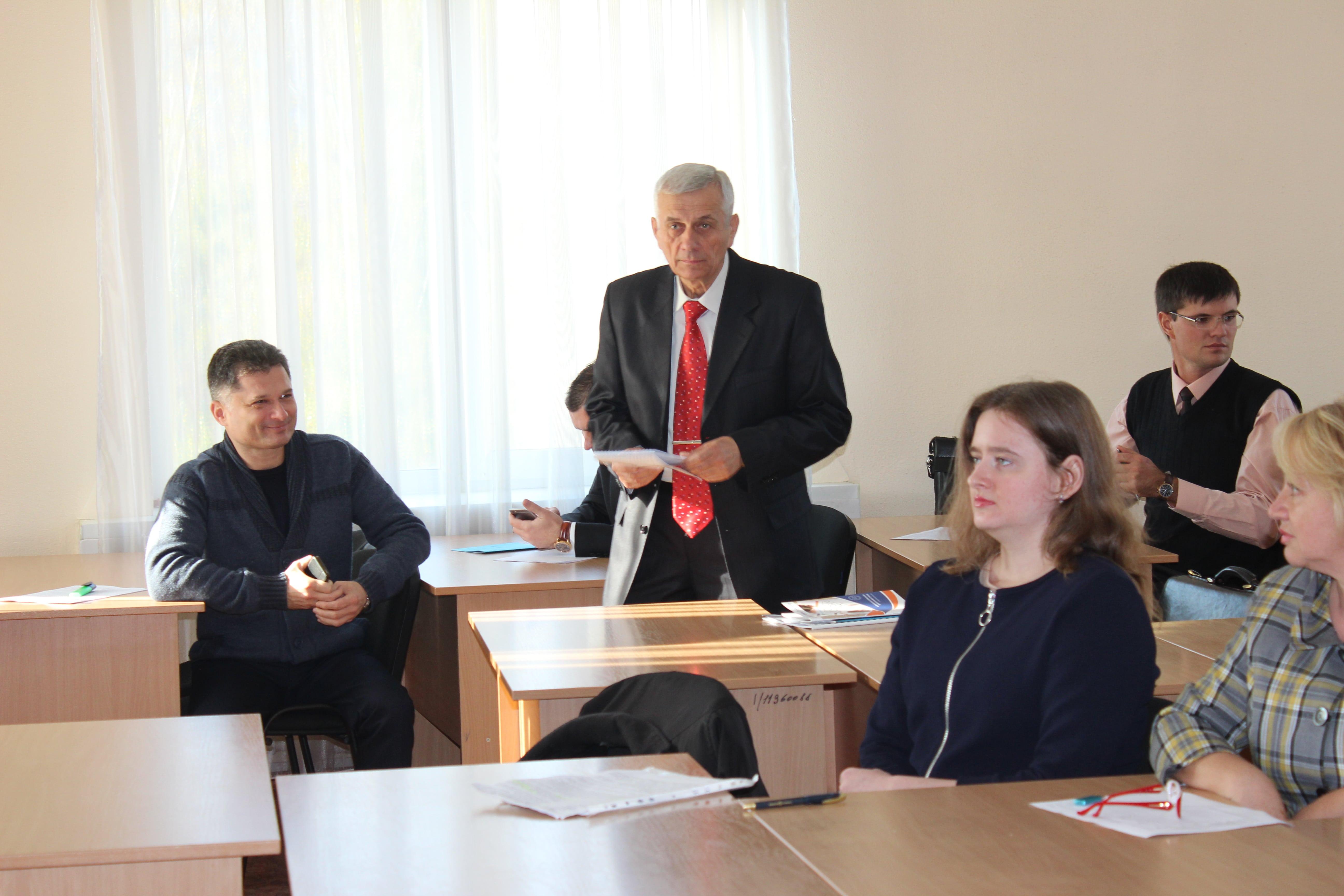 Матьора М.І. взяв участь у роботі науково-практичного Круглого столу