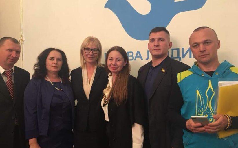 Відбулася координаційна зустріч Уповноваженого Верховної Ради України з прав людини Людмили Денісової з представниками громадянського суспільства