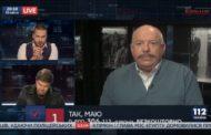Голова Союзу юристів України С.Піскун на каналі 112, 30.04.2018