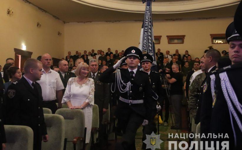 Відбулися урочистості з нагоди святкування Дня Національної поліції України.